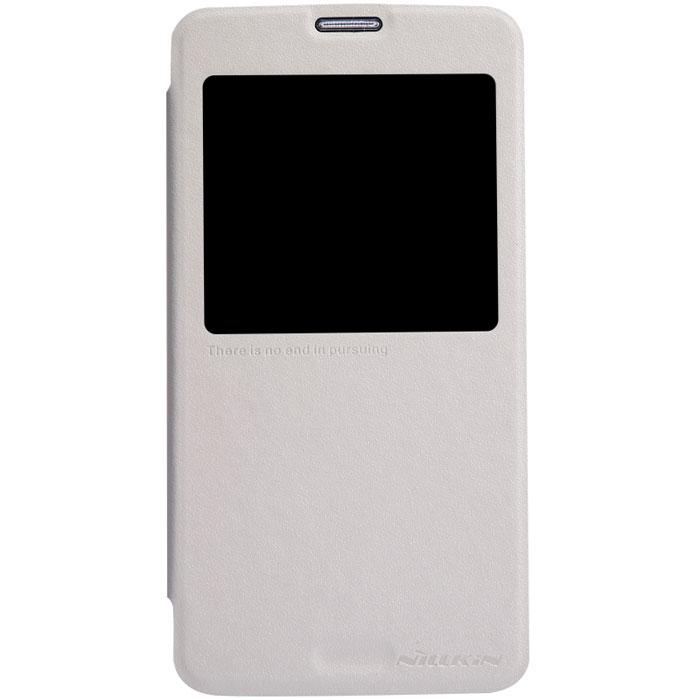 Чехол Nillkin Sparkle Leather Case для Samsung Galaxy S5, 2000000013671, белый
