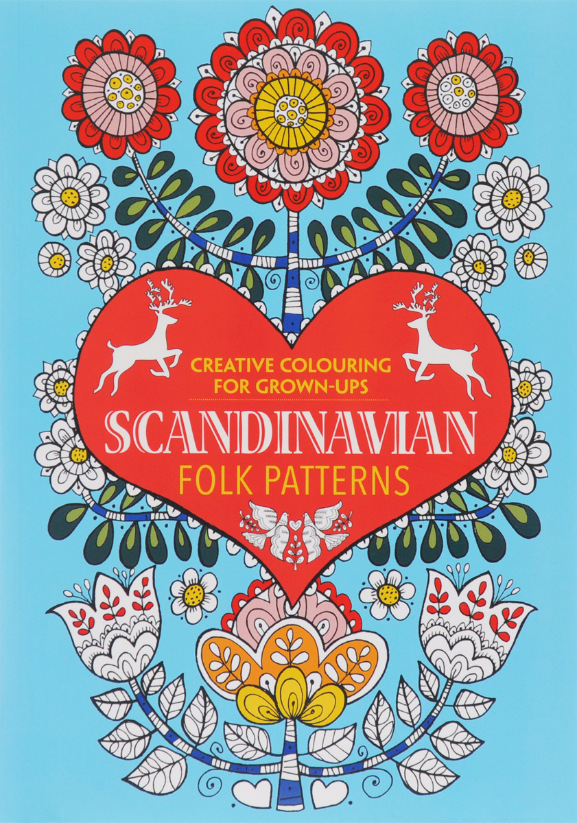 Scandinavian Folk Patterns: Creative Colouring for Grown-Ups egyptian patterns to colour