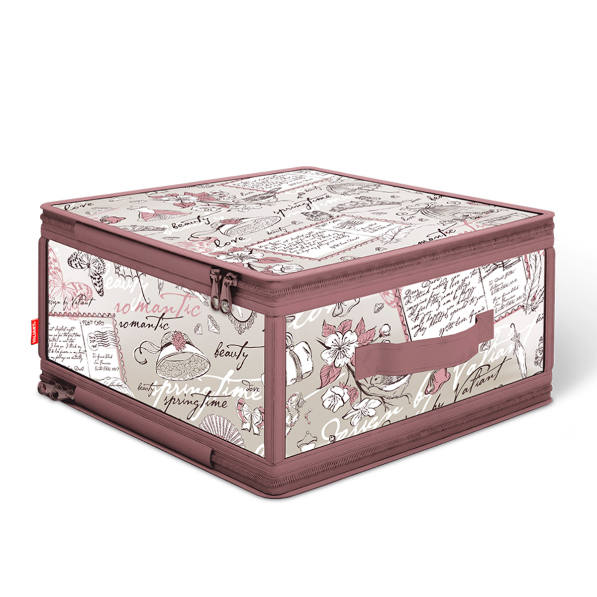 Кофр для хранения Valiant Romantic, 30 см х 28 см х 15 см