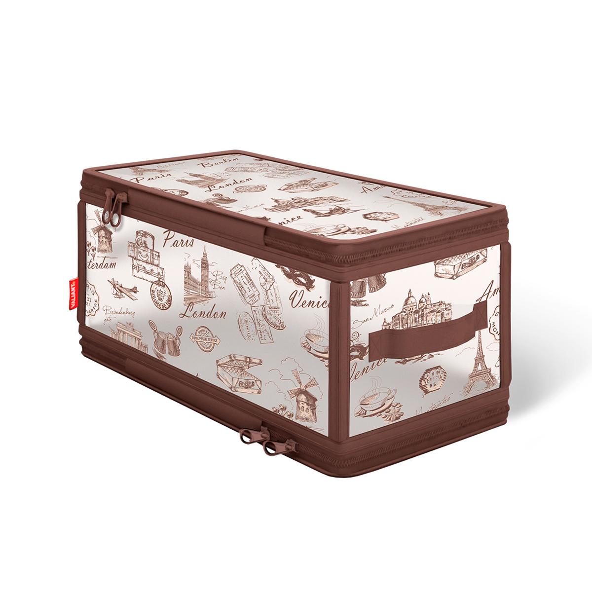 Кофр для хранения Valiant Travelling, с застежкой-молнией, 30 см х 15 см х 15 см omnilux бра omnilux padru oml 53301 01