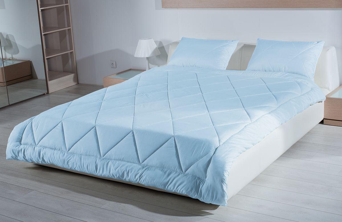 Одеяло Primavelle Bellissimo, наполнитель: кашгоры, цвет: голубой, 140 см х 205 см одеяло свс одеяло кассетное аляска 140 205 см