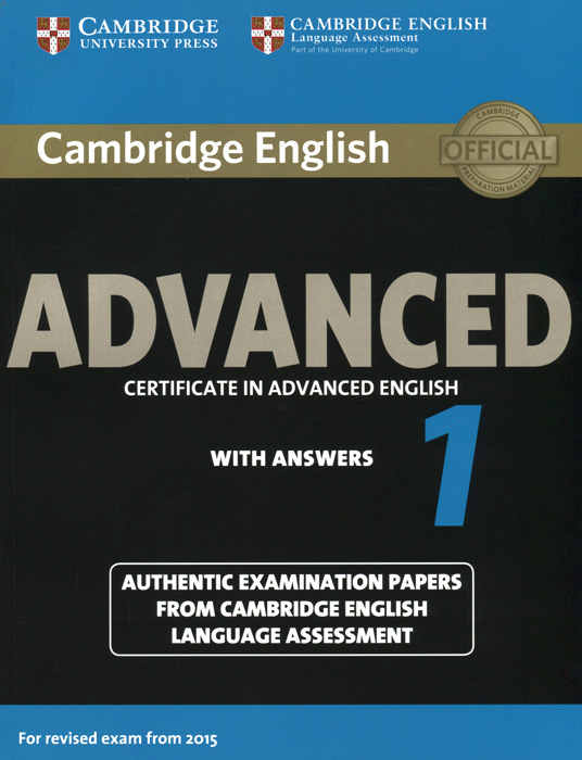 Advanced 1: Student's Book with Answers objective advanced student s book without answers cd