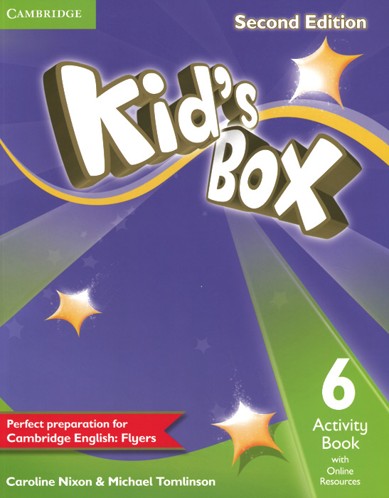 Kid's Box 6: Activity Book with Online Resources delta mighty movers activity book