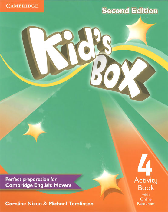 Kid's Box 4: Activity Book with Online Workbook delta mighty movers activity book