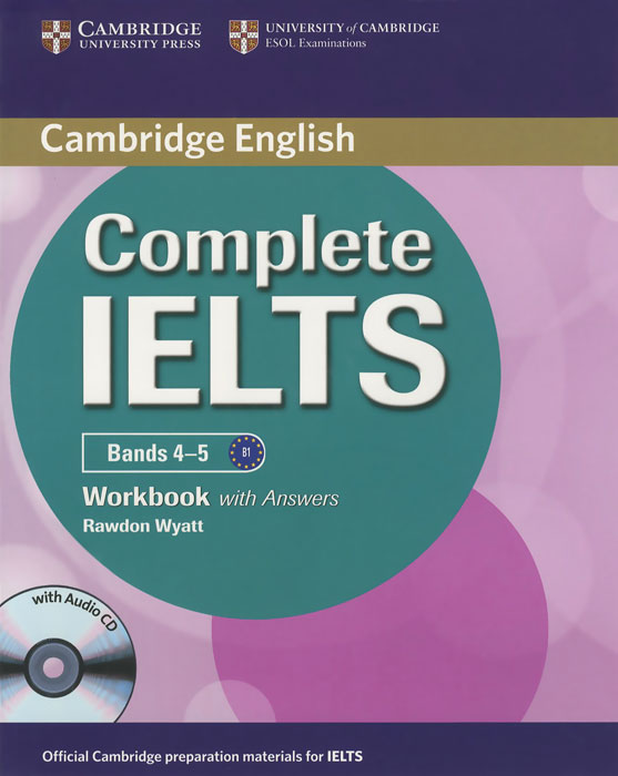 Cambridge: Complete IELTS Bands 4-5: Workbook with Answers (+CD) new insight into ielts workbook pack audio cd