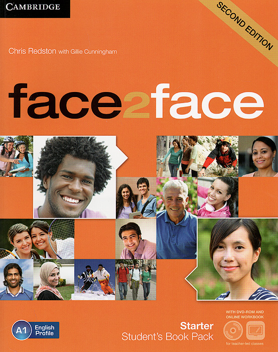 Face2Face: Starter: Student's Book Pack (+ DVD-ROM and Online Workbook) gold experience a1 students book dvd rom