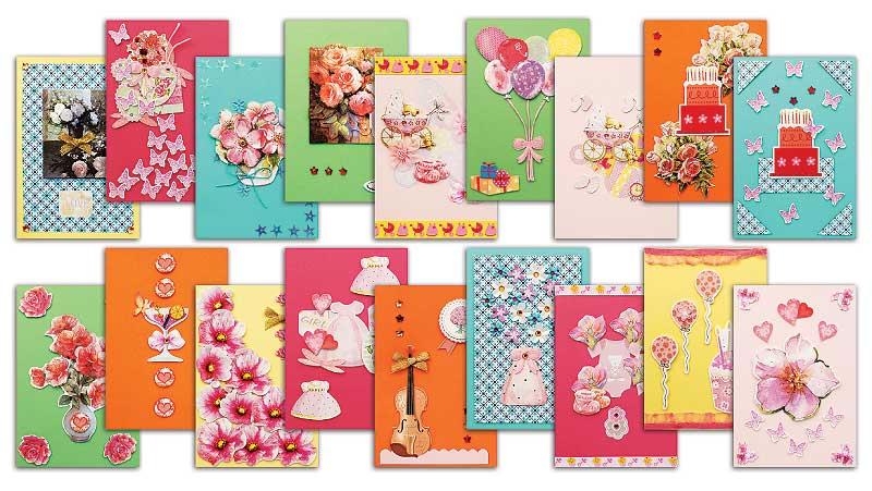 Набор для создания открыток Белоснежка Очарование, 18 шт набор для создания открыток белоснежка очарование 18 шт