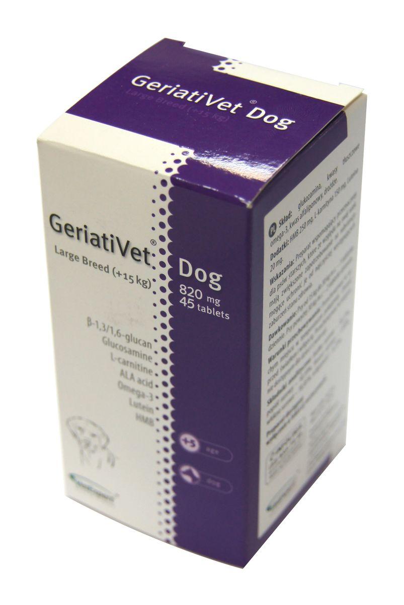 ГериатиВет для крупных пород 45 таб. VetExpert пенестер таблетки 5 мг 30 шт