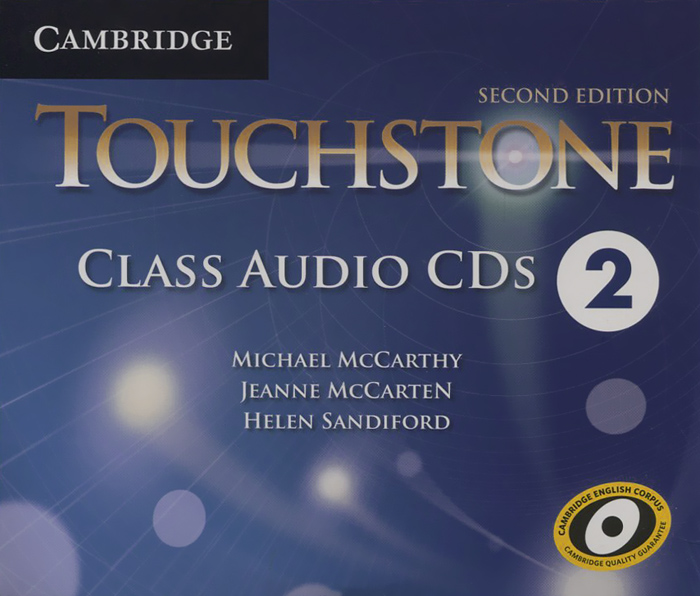 Touchstone: Level 2: Class Audio CDs (аудиокурс на 4 CD) first trainer audio cds аудиокурс на 4 cd