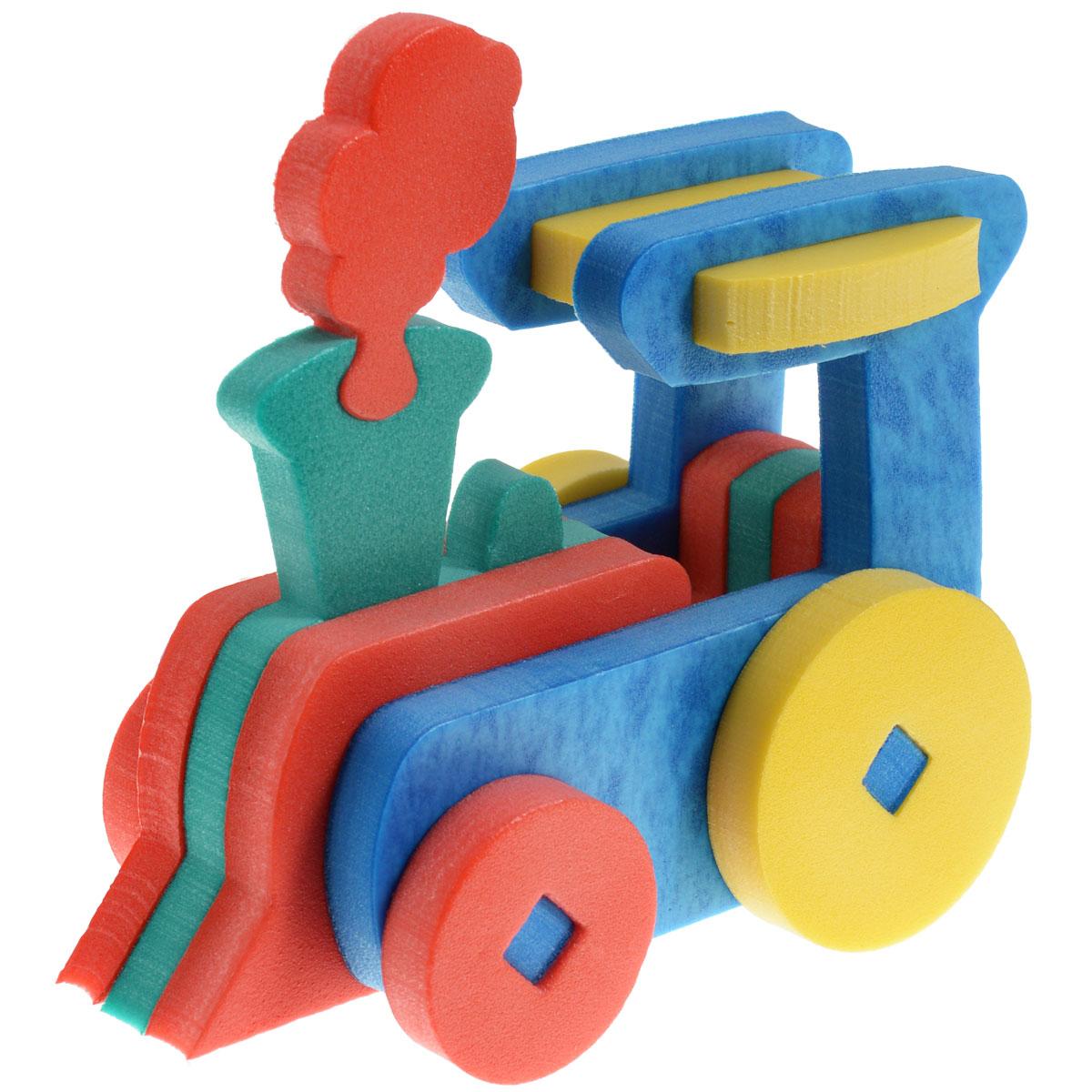 Флексика Мягкий конструктор Паровозик45403Мозаики и конструкторы настолько универсальны и практичны, что с ними можно играть практически везде. Для производства игрушек используется современный, легкий, эластичный, прочный материал, который обеспечивает большую долговечность игрушек, и главное –является абсолютно безопасным для детей. К тому же, благодаря особой структуре материала и свойству прилипать к мокрой поверхности, мягкие конструкторы и мозаики являются идеальной игрушкой для ванны. Способствует развитию у ребенка мелкой моторики, образного и логического мышления, наблюдательности. Производственная фирма `Тедико` зарекомендовала себя на рынке отечественных товаров как производитель высококачественных конструкторов и мозаик серии `Флексика`. Богатый ассортимент включает в себя игрушки для малышей и детей старшего возраста. УВАЖАЕМЫЕ КЛИЕНТЫ! Обращаем ваше внимание на возможные изменения в дизайне, связанные с ассортиментом продукции: цвет изделия или отдельных деталей может отличаться от представленного на изображении. Поставка осуществляется в зависимости от наличия на складе.