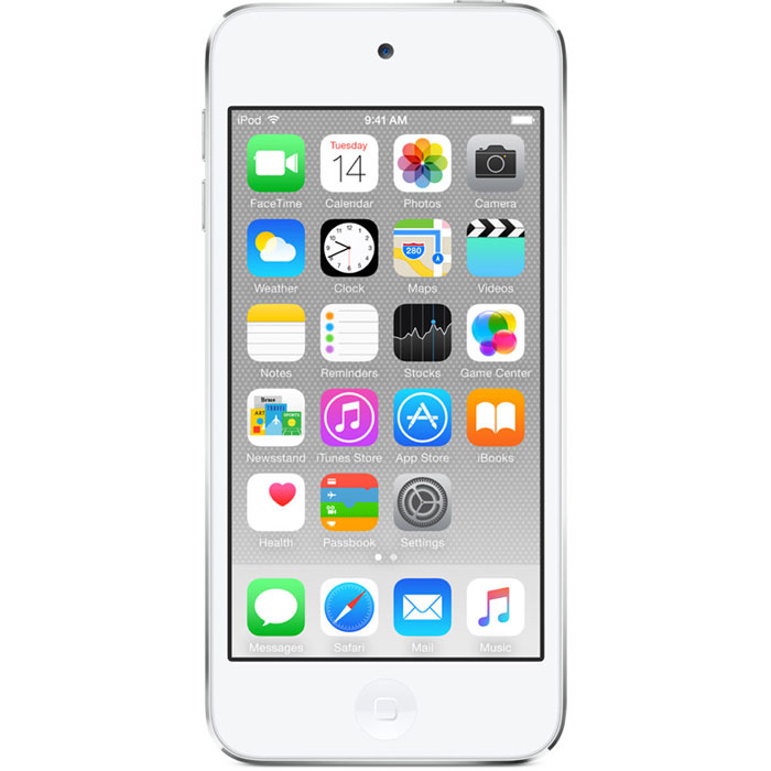 цена на Apple iPod Touch 6G 32GB, White Silver mp-3 плеер