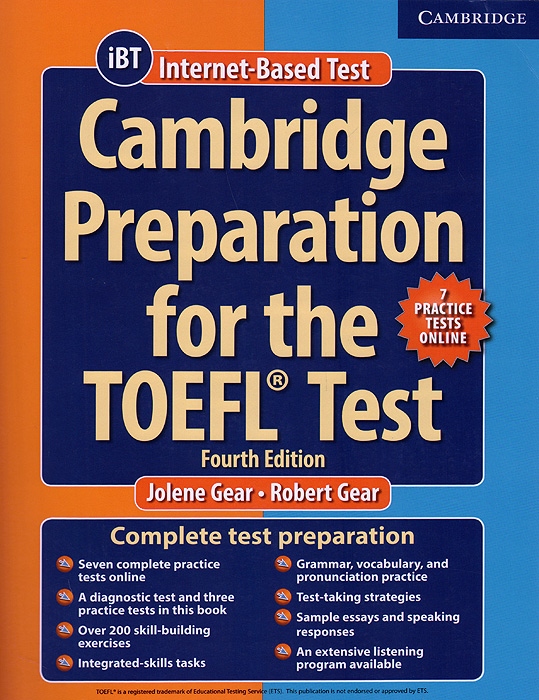 Cambridge Preparation for the TOEFL Test: Book with Online Practice Tests: Fourth Edition coggshall vanessa word smart for the toefl