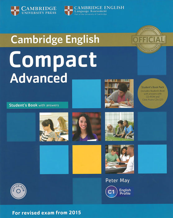 Compact Advanced: Student's Book with Answers (+ 2 CD) цена