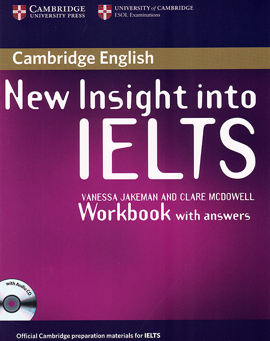 New Insight into IELTS: Workbook Pack (+ Audio CD) cambridge ielts 11 general training student s book with answers