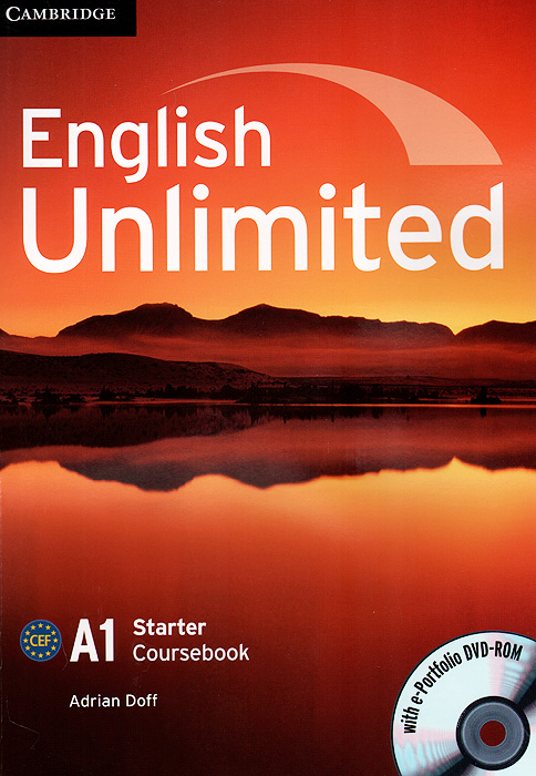 English Unlimited: Level A1: Starter Coursebook (+ DVD-ROM) цена