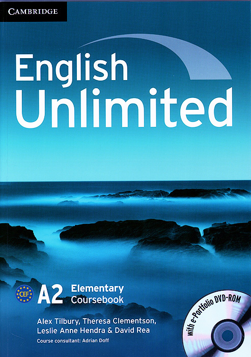 English Unlimited: Elementary: Coursebook with e-Portfolio and Online Workbook Pack (+ DVD-ROM) english unlimited elementary self study pack dvd rom