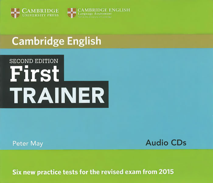 First Trainer: Audio CDs (аудиокурс на 4 CD) ket for schools trainer six practice tests with answers and teacher s notes 2 cd