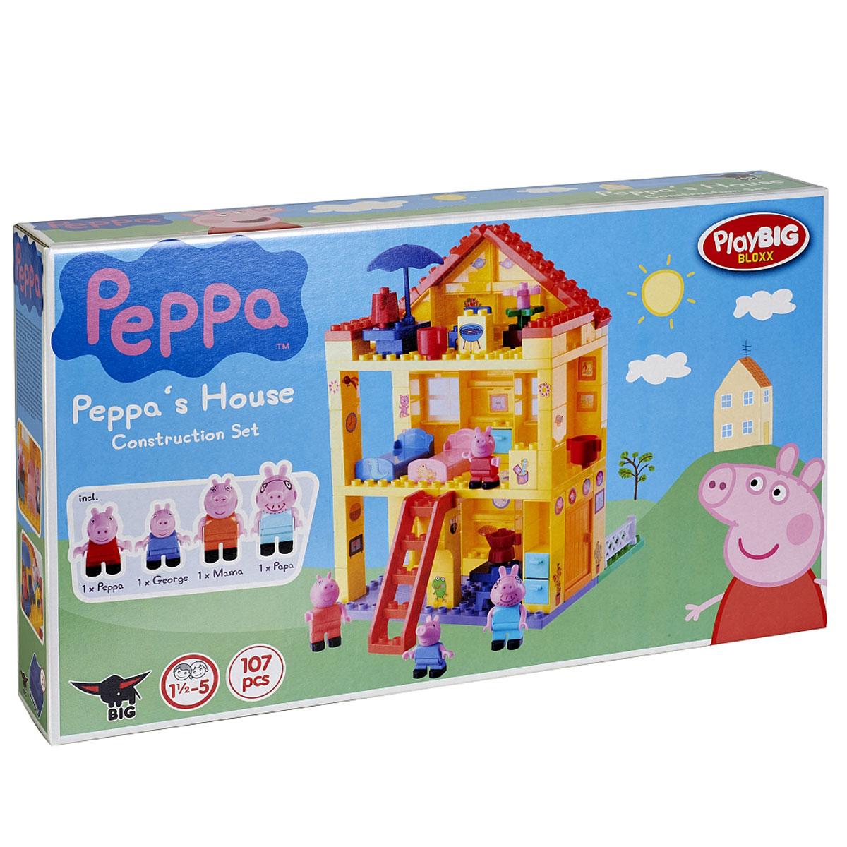 Peppa Pig конструктор любимый дом