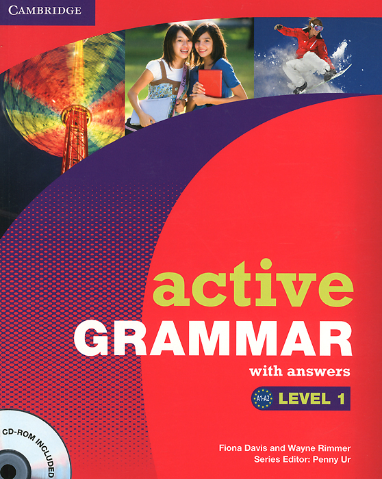 Active Grammar 1: With Answers (+ CD-ROM) цена и фото