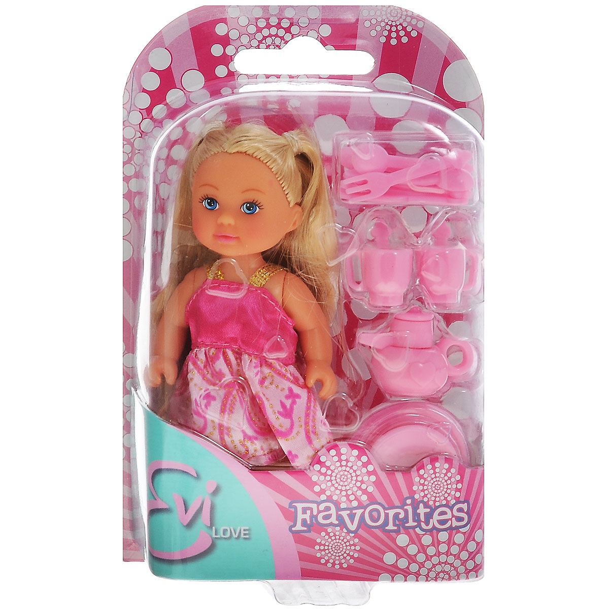 Simba Кукла Еви, с кухонными аксессуарами цена