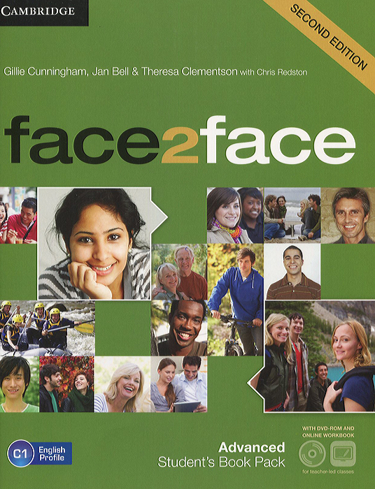 Face2Face: Advanced: Student's Book Pack (+ DVD-ROM) placement and evaluation package interchange third edition passages second edition with audio cds