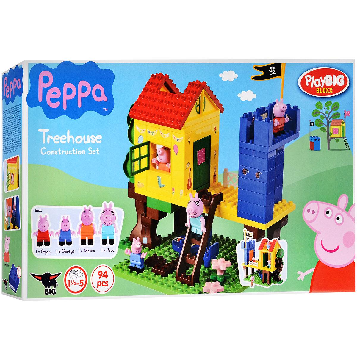 Peppa Pig конструктор дом на дереве