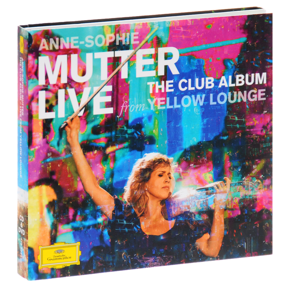Анна-Софи Муттер,Noa Wildschut,Ламберт Оркис Anne-Sophie Mutter. Live From Yellow Lounge (CD + DVD) анна софи муттер anne sophie mutter mendelssohn cd dvd
