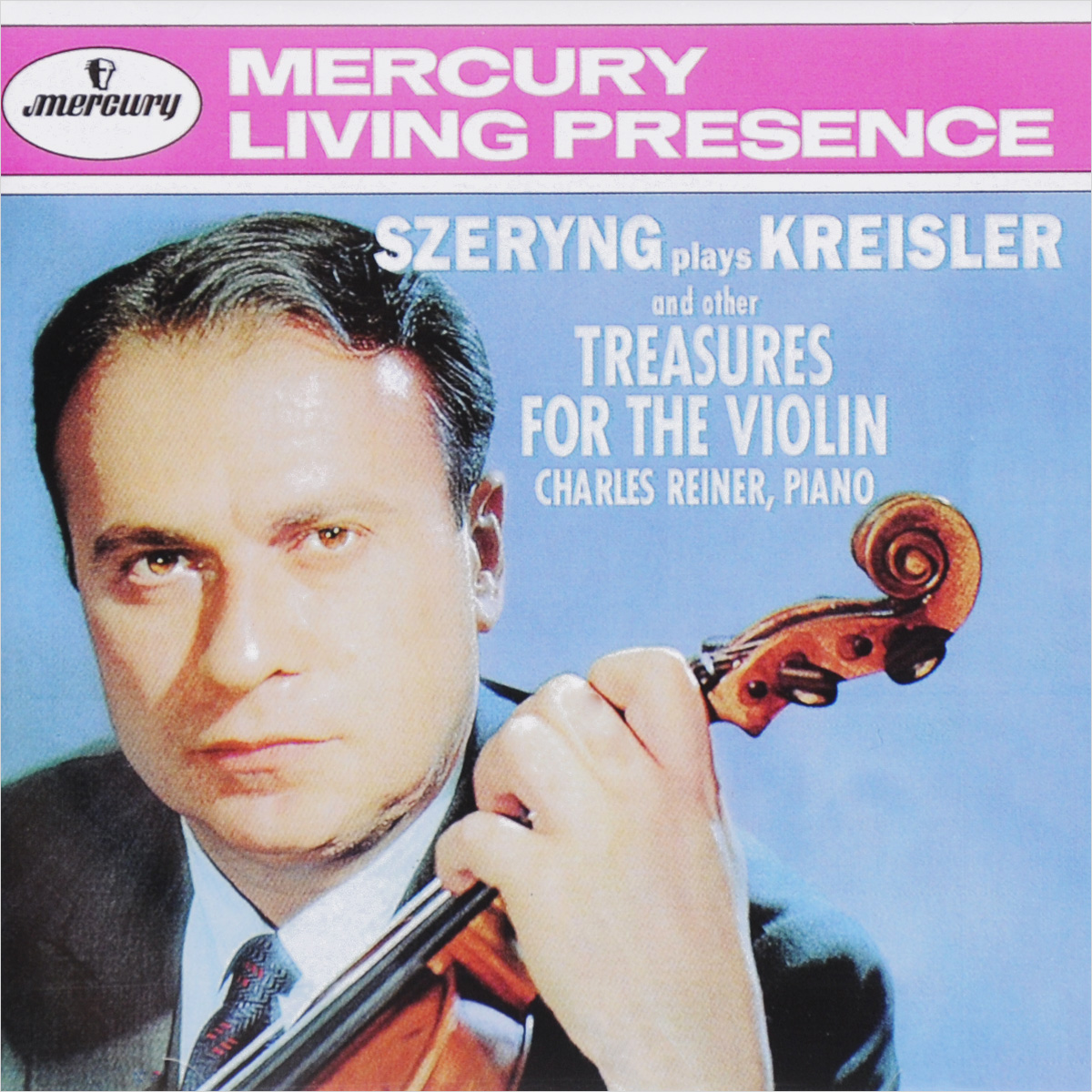 Генри Шеринг,Чарльз Райнер Szeryng Plays Kreisler And Other Tresures For The Violin генри шеринг чарльз райнер szeryng plays kreisler and other tresures for the violin