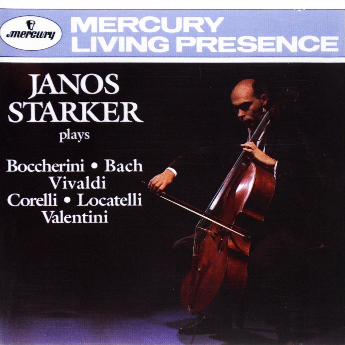 Янос Старкер,Стивен Шведиш Janos Starker. Boccherini / Bach / Vivaldi / Corelli / Locatelli / Valentini various boccherini luigi sonates