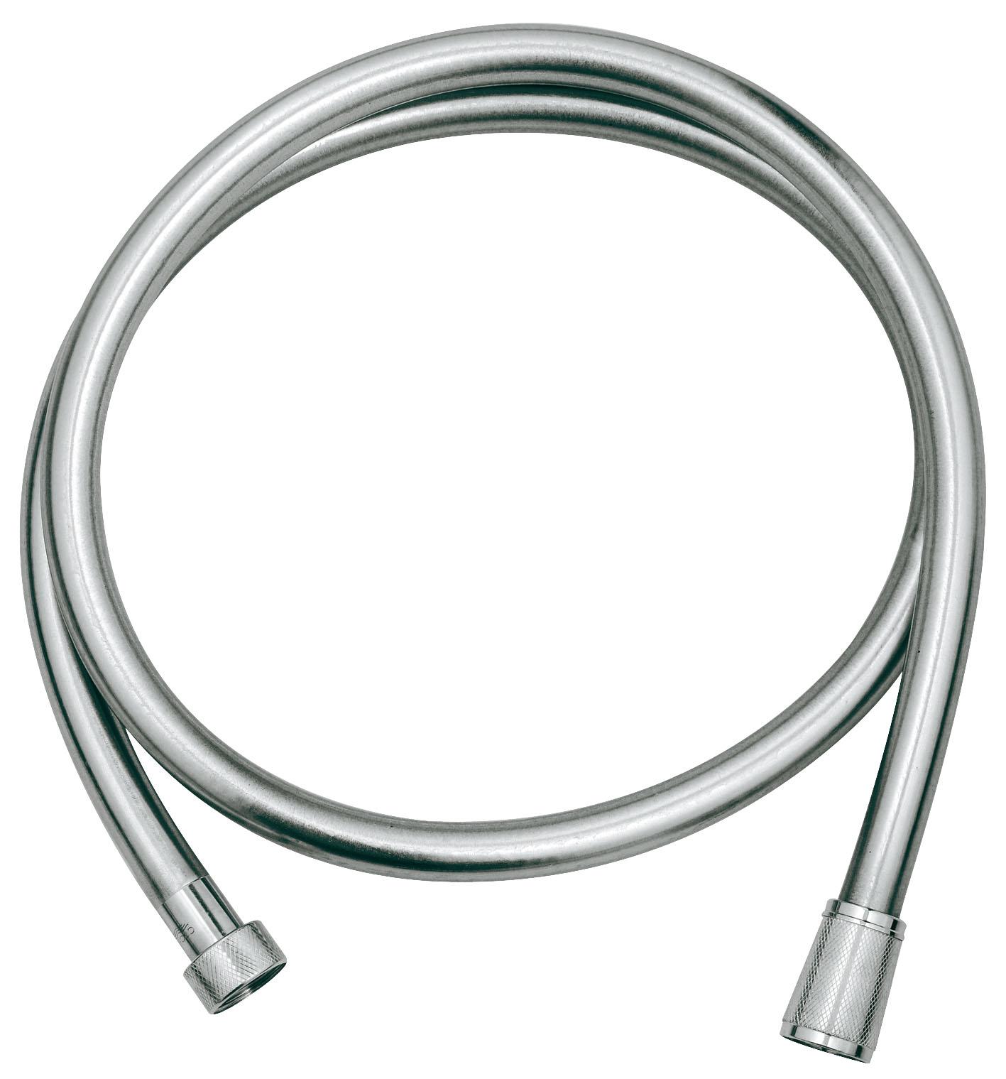Душевой шланг Grohe Silverflex, длина 1,25 м. 28362000 шланг душевой grohe 28362000 silverflex 1250 мм