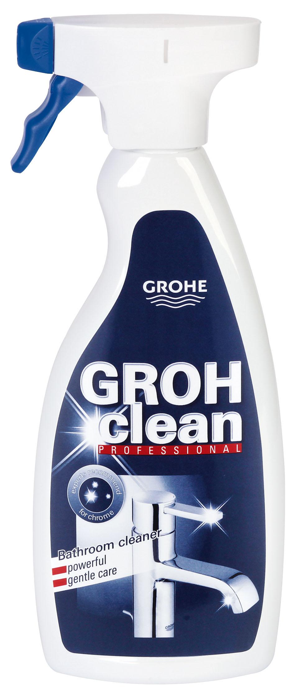Чистящее средство для сантехники Grohe GROHclean Professional, универсальное, 500 мл чистящее средство для сантехники grohe grohclean 48166000