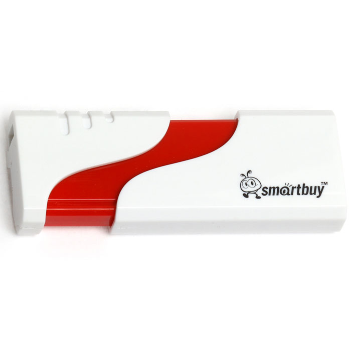 SmartBuy Hatch 8GB, White USB-накопитель usb flash накопитель 8gb smartbuy u10 sb8gbu10 s usb 2 0 серебристый