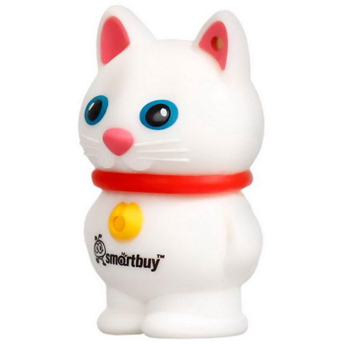 SmartBuy Wild Series Catty, White 16GB USB-накопитель