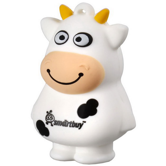SmartBuy Wild Series Cow 8GB USB-накопитель smartbuy wild series bomb 8gb usb накопитель