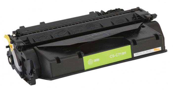Картридж Cactus CS-C719H, черный, для лазерного принтера