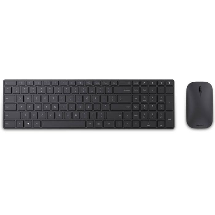 лучшая цена Комплект мышь + клавиатура Microsoft Wireless Designer Bluetooth Desktop (7N9-00018)
