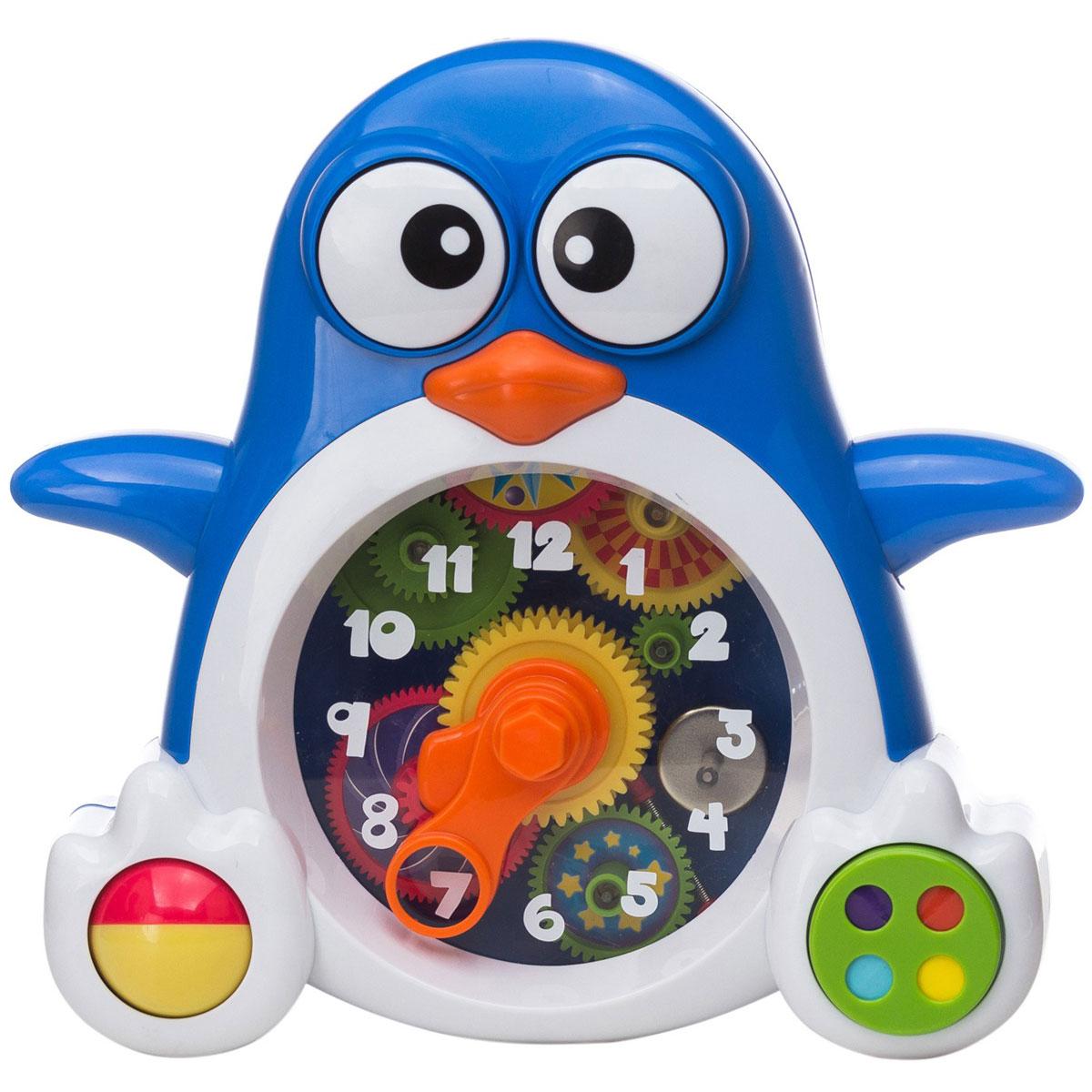 """Keenway Развивающая игрушка """"Пингвиненок-часы"""""""