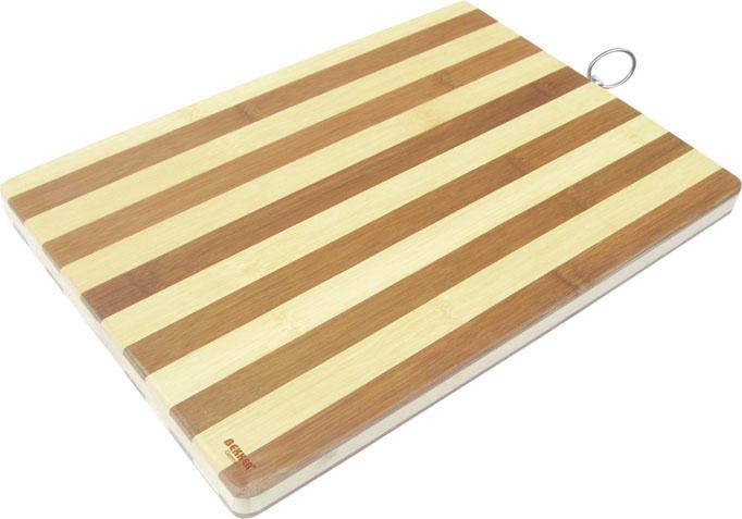 Доска разделочная BK-9707, прямоугольная, 38 х 26 х 2 см bekker bk 9707