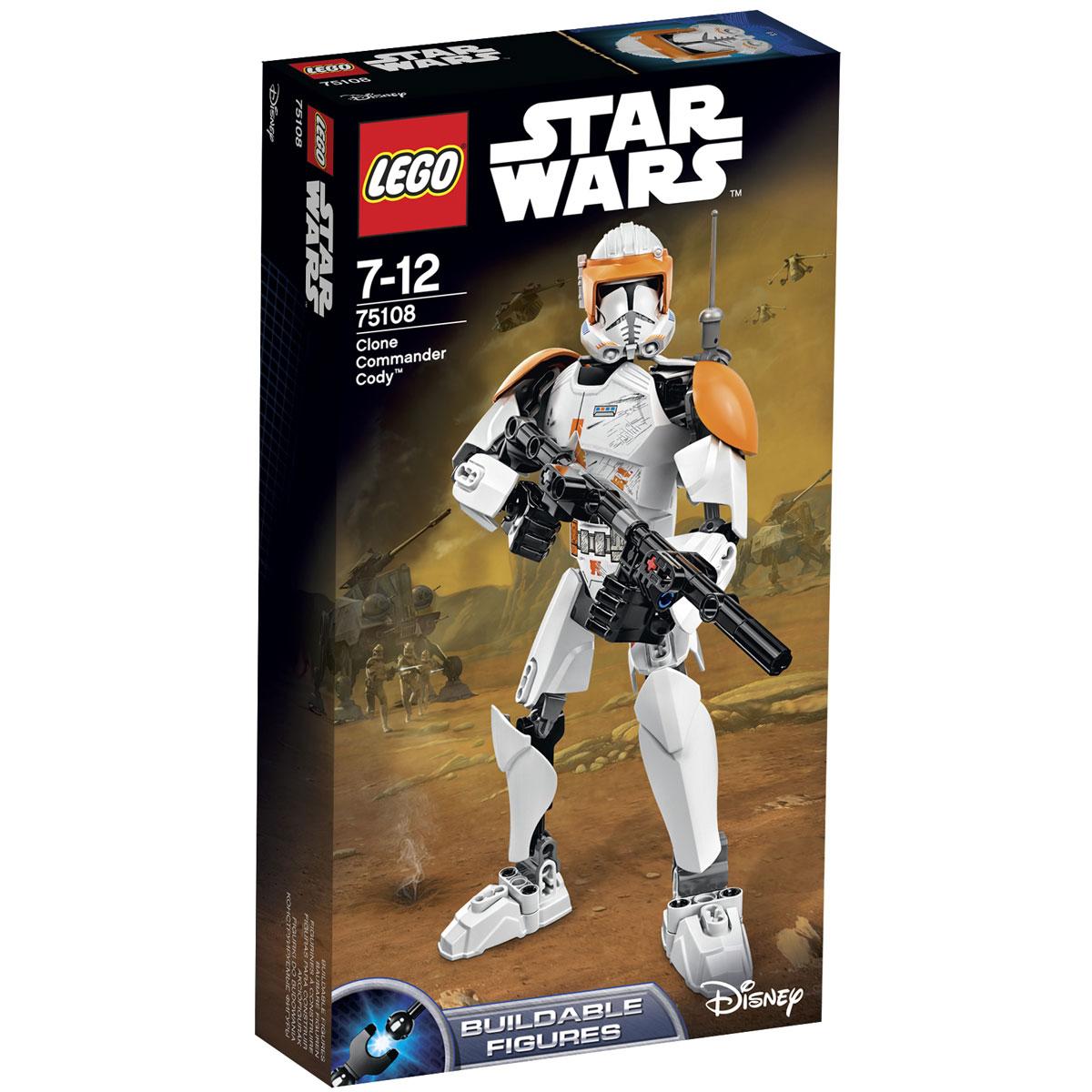 LEGO Star Wars Фигурка-конструктор Клон коммандер Коди 75108