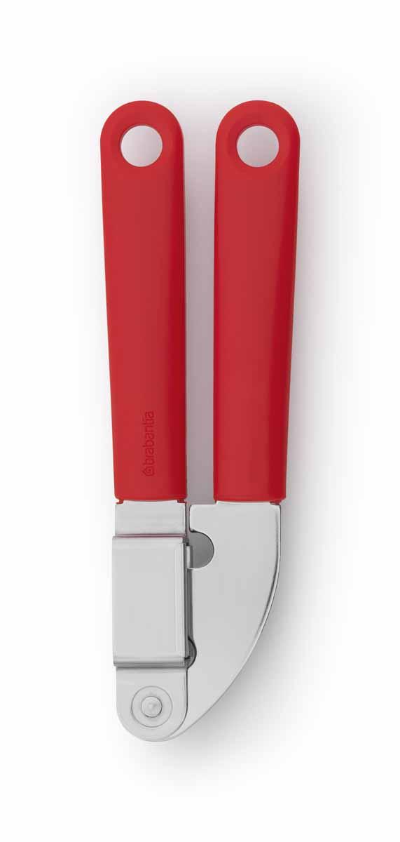 Пресс для чеснока Brabantia Tasty Colours, цвет: красный. 106262 brabantia пресс для чеснока со съемной насадкой 18х4 8 см 210020 brabantia