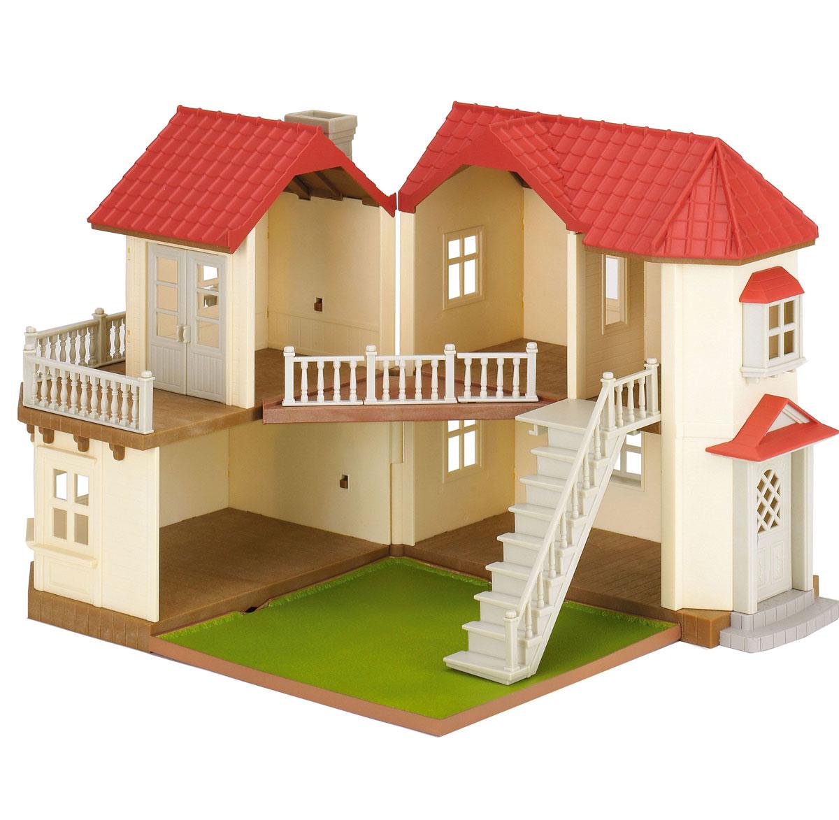 Sylvanian Families Игровой набор Большой дом со светом
