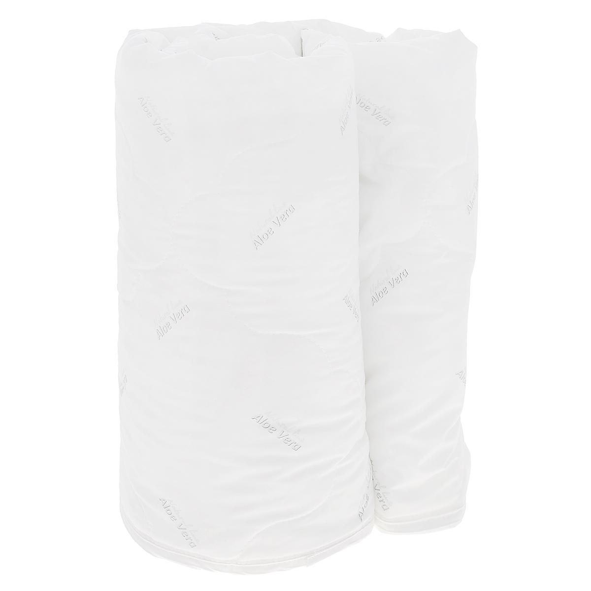 """Одеяло Verossa """"AloeVera"""", наполнитель: полиэстеровое волокно, 140 см х 205 см"""