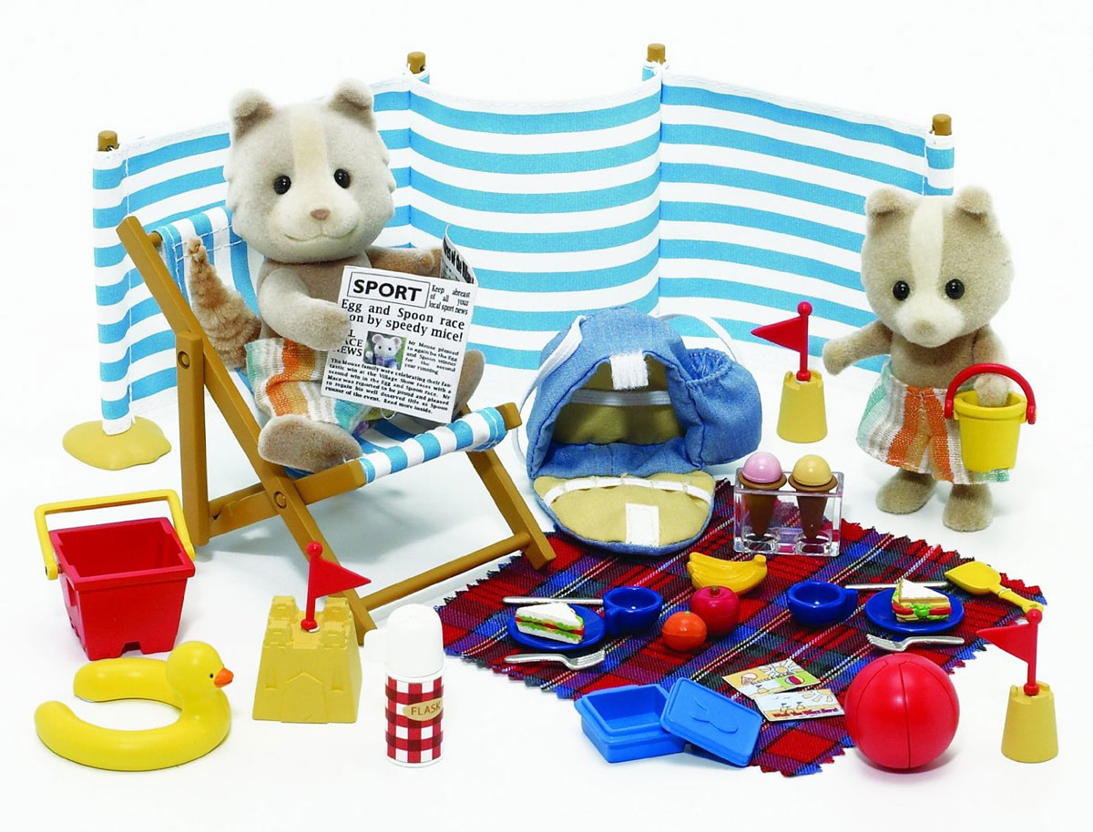 Sylvanian Families Набор фигурок День на море фигурки игрушки sylvanian families фигурки игрушки