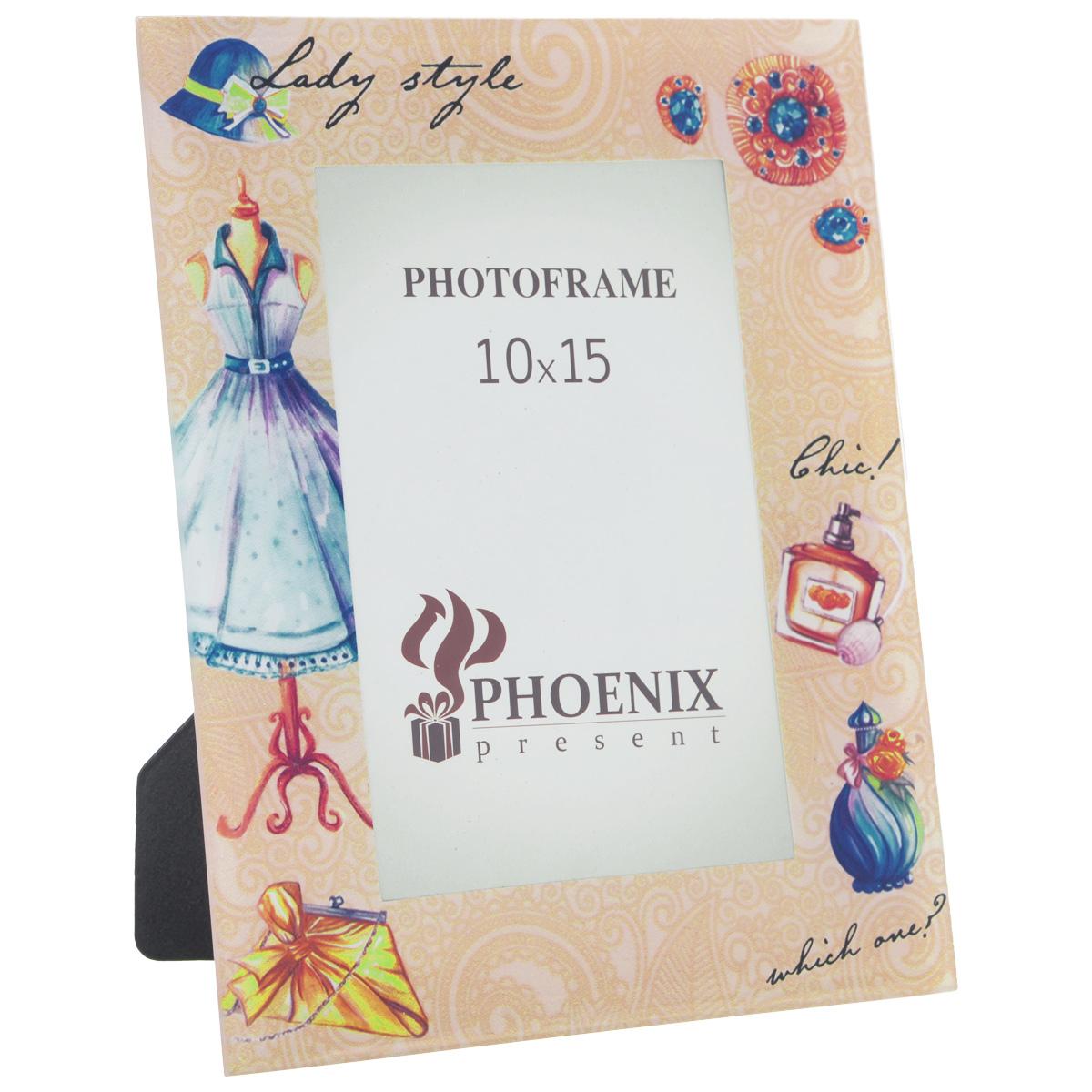 """Фоторамка Феникс-презент """"Леди"""", 10 см х 15 см"""