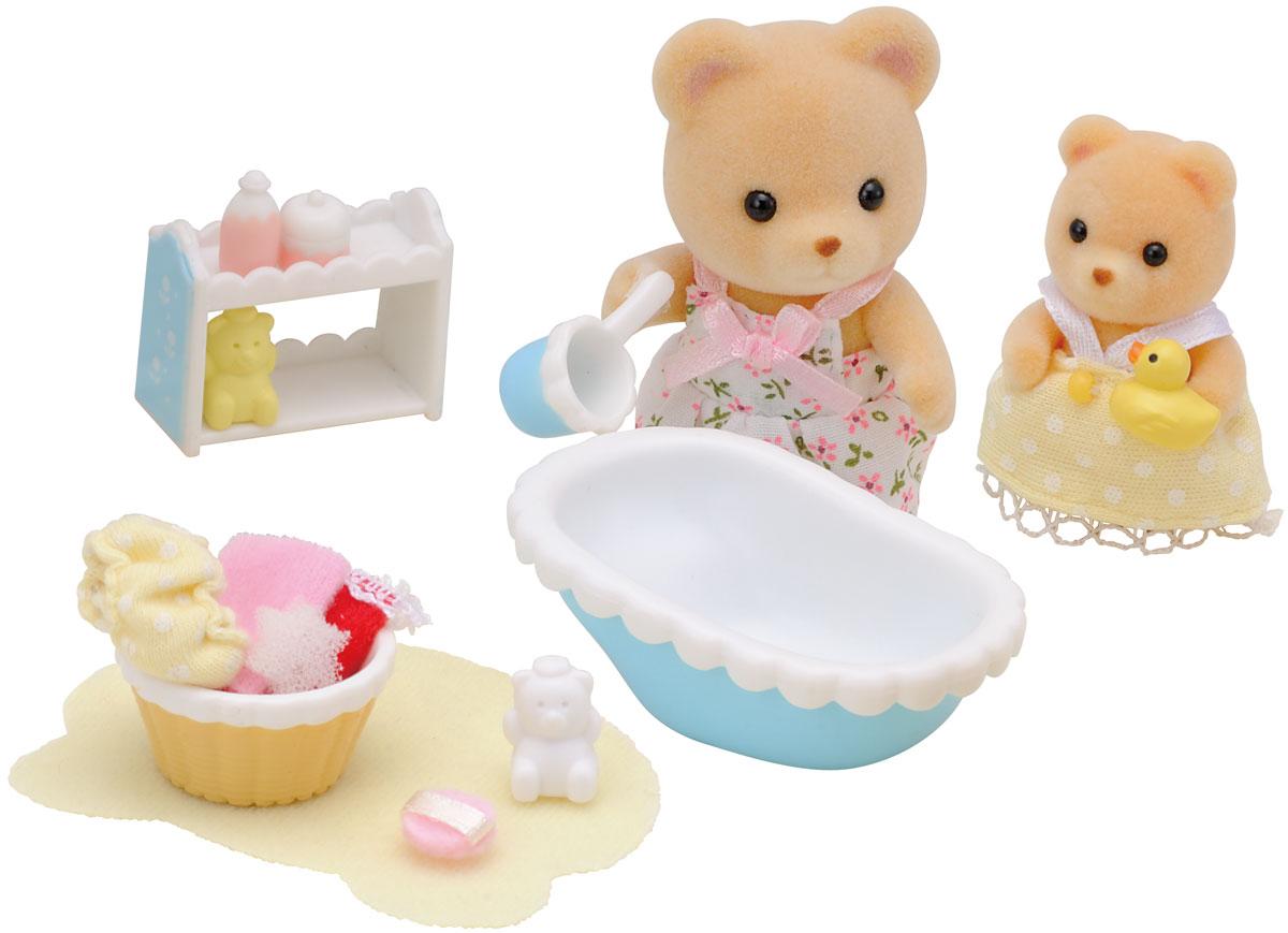 Sylvanian Families Набор фигурок Мама купает малыша фигурки игрушки sylvanian families фигурки игрушки