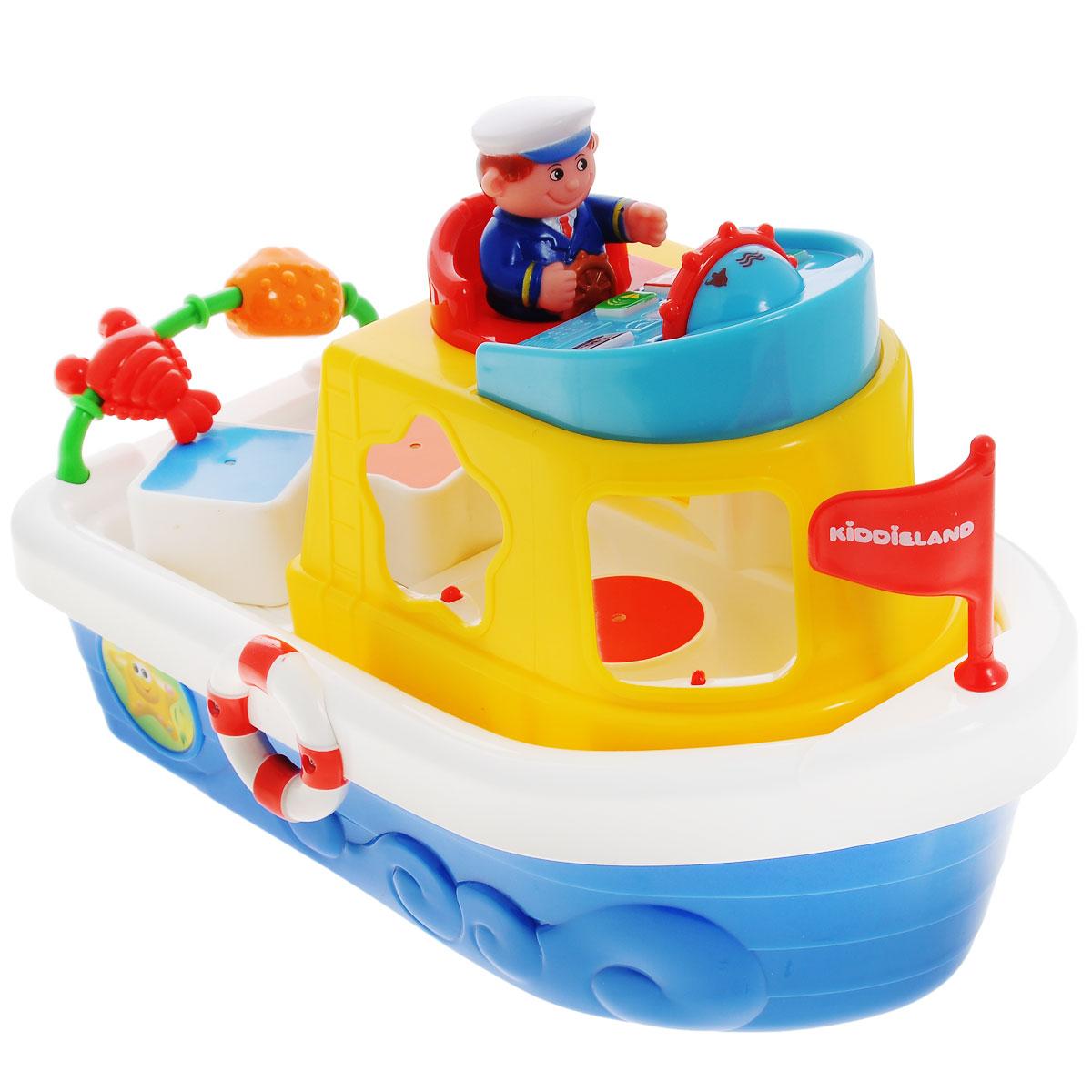 """Kiddieland Развивающая игрушка """"Мой первый корабль-сортер"""""""