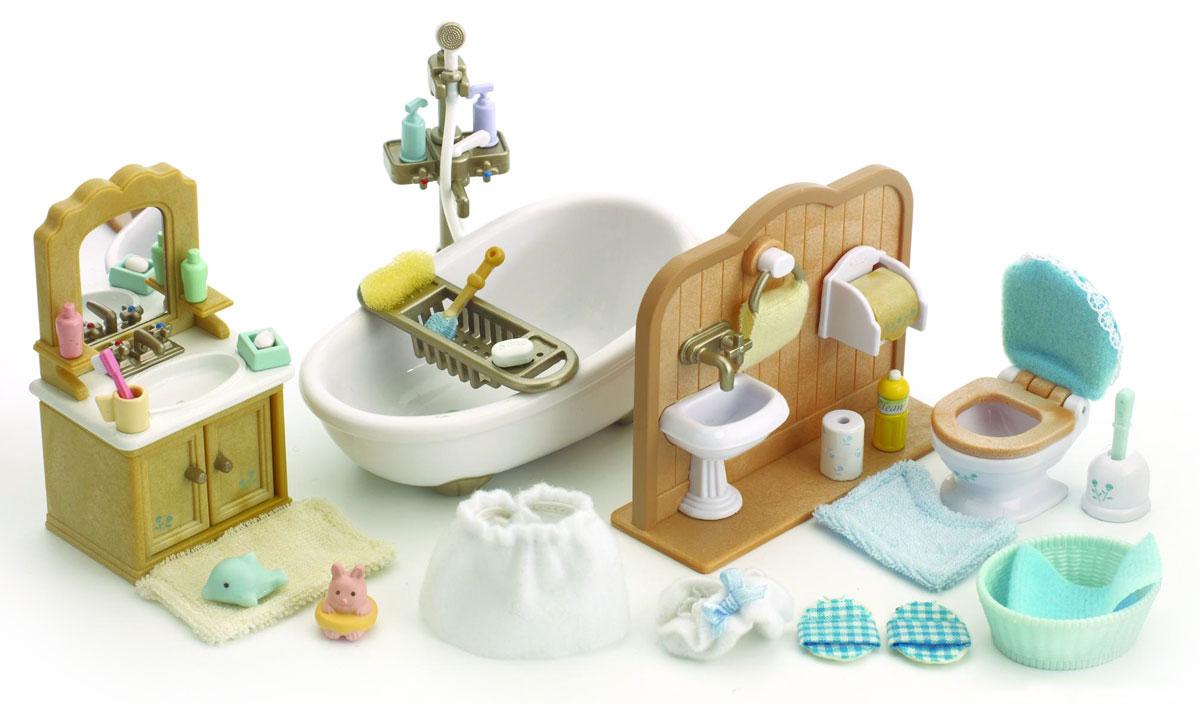 цена Sylvanian Families Игровой набор Ванная комната онлайн в 2017 году