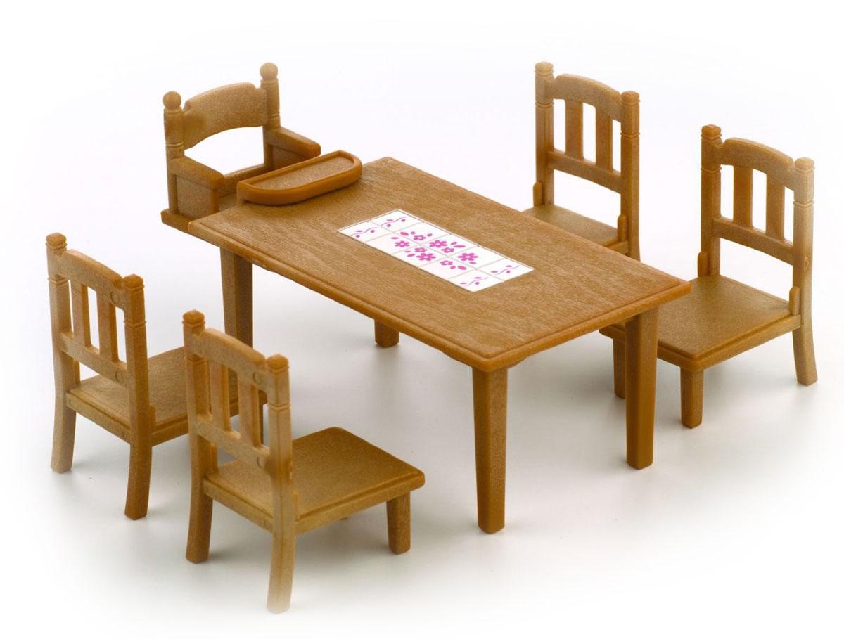 Sylvanian Families Игровой набор Обеденный стол с пятью стульями
