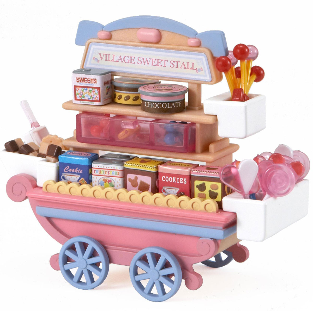 Sylvanian Families Игровой набор Тележка со сладостями