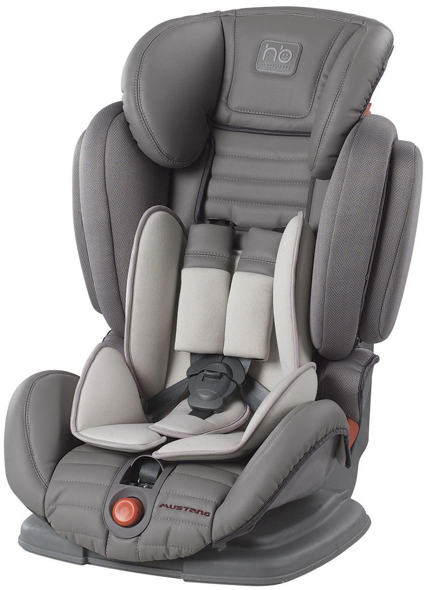 Автокресло Happy Baby Mustang от 9 до 36 кг, 4690624016714, gray happy baby mustang бежевый